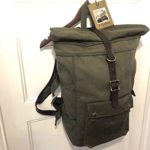 Filson Roll Top Backpack - Otter Green - Rare